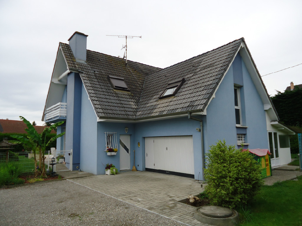 Achat vente maison de 6 pi ces blodelsheim 68740 for Achat maison 68